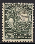 Sellos de America - México -  INDIO ARQUERO.