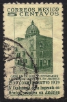 Stamps America - Mexico -   Primera imprenta en México 1539- - 400 aniversario de la imprenta en México