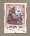 Sellos del Mundo : Asia : Nepal : Gamesh, Katmandu