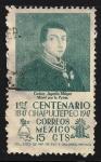 Sellos de America - México -  Cadete Agustín Melgar.