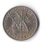 monedas de Europa - Portugal -  ESCUDO REPUBLICA PORTUGUESA (CARA POSTERIOR)