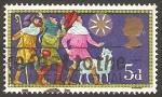 Stamps United Kingdom -  580 - Navidad, Los Reyes