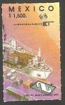 Sellos de America - México -  1394 - Centº de S.C.T. Sistema de comunicaciones y transportes