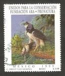 Stamps Mexico -  1887 A - Águila arpía