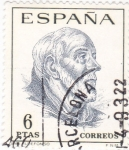 Stamps Spain -  San Ildefonso-Centenarios de Celebridades (U)