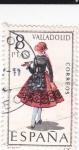 Sellos de Europa - España -  VALLADOLID -Trajes típicos españoles (U)