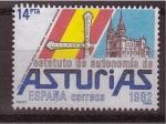 Stamps Spain -  estatutos de autonomia
