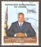 Sellos del Mundo : Africa : República_Democrática_del_Congo :  GENERAL  MAYOR  JOSEPH  KABILA