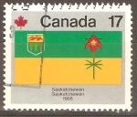 Sellos de America - Canadá -  BANDERA  DE  LA  PROVINCIA  DE  SASKATCHEWAN