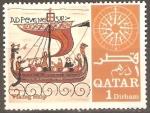 Stamps Asia - Qatar -  EMBARCACIÒN  VIKINGA