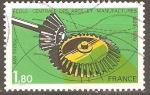 Sellos de Europa - Francia -  ENGRANAJES