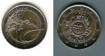 monedas del Mundo : Europa : España :  X Aniversario del Euro 2012  2 €