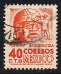 Sellos de America - México -  CABEZA DE PIEDRA, TABASCO
