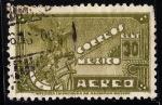 Sellos de America - México -  Símbolo aéreo.