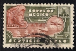 Sellos de America - México -  EL HOMBRE AGUILA.