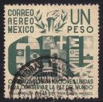 Sellos de America - México -  Organización Naciones Unidas. (ONU)