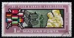 Sellos de Europa - Hungría -  25º aniv. Pacto de Varsovia