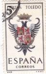 Sellos de Europa - España -  TOLEDO - Escudos de las capitales de provincia españolas (U)