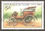 Sellos de Africa - Chad -  AUTOS  ANTIGUOS  1900  F.N.