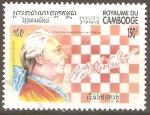 Sellos de Asia - Camboya -  CAMPEONES  DE  AJEDREZ  FRANCOIS  ANDRÈ  PHILADOR