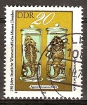 Sellos de Europa - Alemania -  250a Aniv de Museos de Dresde Científicas-DDR.