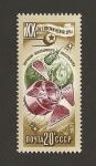 Stamps Russia -  Exploración atmósfera terrestre