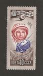 Stamps Russia -  Yuri Gagarin, astronauta