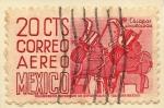 Sellos de America - México -  CHIAPAS-ARQUEOLOGIA.