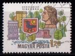 Sellos de Europa - Hungría -  Villas de la gran curva del Danubio
