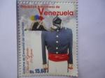Stamps Venezuela -  Día del Ejército, 24 de Junio- Uniforme de Campaña del Libertdor (1/6)