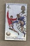 Stamps United Kingdom -  Copa Mundial Futbol
