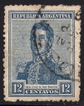 Sellos de America - Argentina -  General José de San Matín.