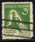 Sellos de America - Argentina -  VI Congreso Internacional del Frio.