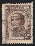 Sellos de America - Argentina -  JUSTO JOSE DE URQUIZA.