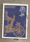 Sellos de Europa - Reino Unido -  25 Aniversario de la Coronación