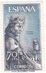 Stamps Spain -  ALFONSO X  EL SABIO - Personajes españoles  (U)