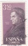 Stamps Spain -  JOSÉ DE ACOSTA - Personajes españoles  (U)