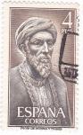 Stamps Spain -  MAIMONÍDES - Personajes españoles  (U)