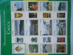 Stamps Colombia -  DEPARTAMENTOS DE COLOMBIA- EL CAUCA -