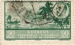 Stamps of the world : Equatorial Guinea :  Territorios españoles del golfo de Guinea
