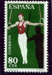 Stamps Spain -  Gimnasio