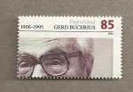 Stamps Germany -  Gerd Bucerius