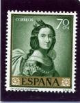 Stamps Spain -  Santa Casilda (Francisco de Zurbarán)