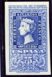Stamps : Europe : Spain :  Centenario del sello español