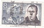 Stamps Spain -  JAIME BALMES- Personajes españoles  (U)
