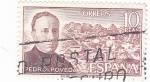 Stamps Spain -  PEDRO POVEDA- Personajes españoles  (U)