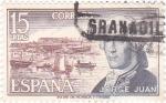 Sellos de Europa - España -  JORGE JUAN - Personajes españoles  (U)