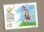 Sellos del Mundo : Asia : Nepal : Octavos Juegos SAF