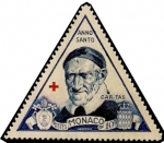 Stamps Europe - Monaco -  San Vicente de Paul