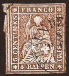 Stamps Europe - Switzerland -  Clásicos - Suiza